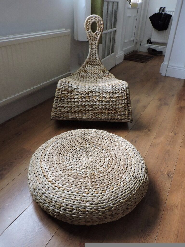 Ikea Rattan Rocking Chair And Footstool In Oxford Oxfordshire Gumtree