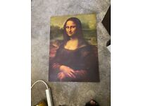 Mona Lisa print £5