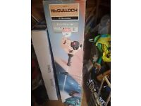 New McCULLOCH Trimmac 25cc grass trimmer