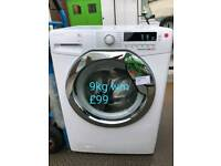 Hoover 9kg washing machine free delivery in Coventry