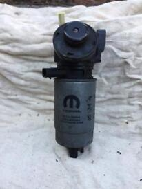 Chrysler Grand Voyager fuel filter and body
