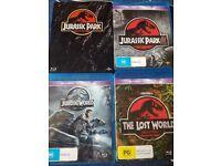 Jurassic park complete set