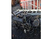 FORD TRANSIT 06 PLATE ENGINE GEAR BOX AND DOORS