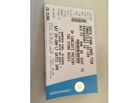 Tickets 3 for stone roses gig at hampden seated