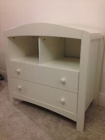 Nursery wardrobe and changing unit (Taunton but similar to current Padstow range)