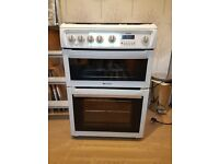 Hotpoint Double Oven and Grill in White