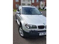 BMW X3 2.5 SPORT SILVER