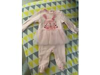 Baby girl clothes 0-3m (new)