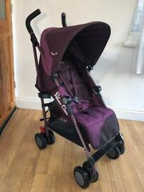 Silver Cross Pop Purple Buggy Stroller Pushchair Pram