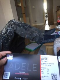 3 seated adele tickets together, finale Saturday 1 July Wembley