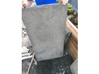 large flagstone perfect for threshold