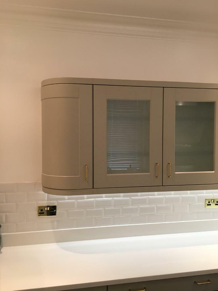 Howdens kitchen wall units in burford grey colour | in Chingford ...