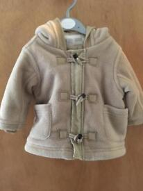 Winter coat size 3-6 months