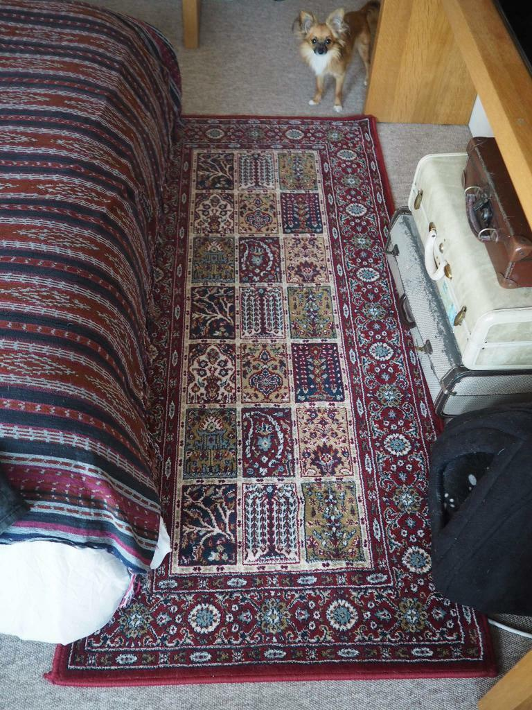 Ikea Valby Ruta Low Pile Rug 80 X 180 Ethnic