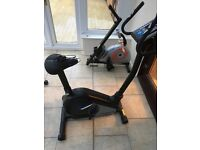 Roger Black Exercise Bike Hardly Used