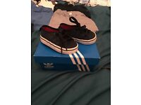 Size 4 and 5 adidas trainers