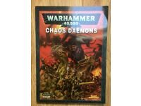 Warhammer 40K Chaos Daemons Codex (2008) for sale  Sheffield, South Yorkshire