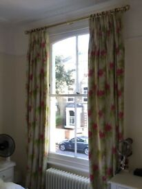 Two pairs of custom made curtains - perfect for Townhouse properties