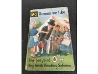Ladybird reading book from 1960s 9a Games we like