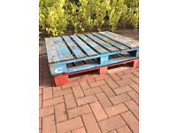 2 x wooden pallets FREE TO COLLECTOR