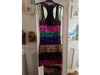 Stunning New look sequin dress size 8 never worn fab