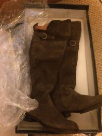 Women's boots, size 4 by Gant knee high boots. The style is Charlotte.