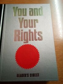 You and Your Rights by Reader's Digest; Hardback; 10th Edition; 1991