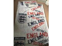 Boys England single duvet and pillow set
