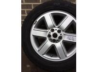 "Genuine Land Rover Discovery Range Sport 19"" Alloy Wheel 6 spoke rim tyre 255 55"