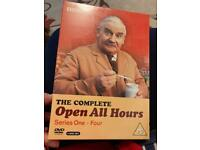 The Complete Open All Hours Series 1 - 4 on DVD