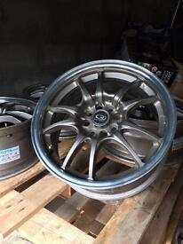 "Bronze Alloy Wheels - 16"" X 7"" Multifit - COST £600 NEW!"
