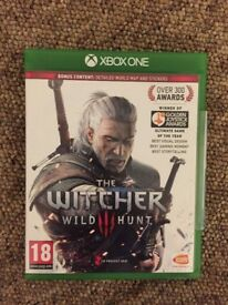 xbox one game - the witcher wild hunt