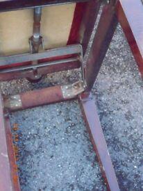 piano stool, height adjustable