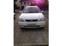 Vauxhall Astra for sale runs 100%