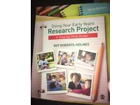 Doing your early years research project step-by-step guide Textbook