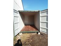 shipping container barn storage