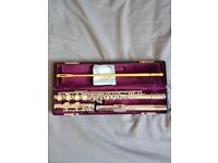 Jupiter Silver Plate Flute JFL-511E-II in Original Hard and Soft Case £145 O.N.O.