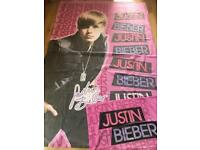 Justin Bieber single duvet set with pillow case