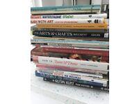 26 art books - see photos FREE