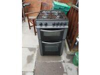 55cm mains gas beko cooker