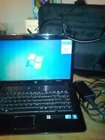 Compaq laptop and bag