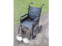 WHEEL CHAIR - **LIGHTWEIGHT** - WHEELCHAIR