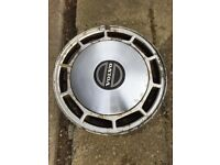 4 off 740 Volvo alloy wheels with hub caps