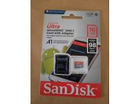 SANDISK ULTRA MICRO SDHC 16GB CARD WITH ADAPTER