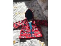Hatelys Red Tractor Jackets 18-24 months