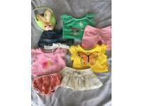 Build a bear with three fab outfits