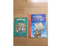 2 childrens' easy read books