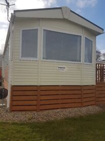 Disabled adapted static caravan on 5 star site