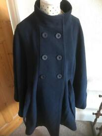 Women's Maternity Cape Coat size 14