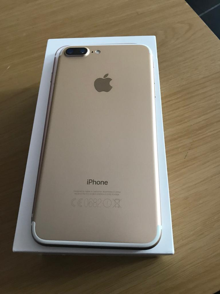 iPhone 7 Plus 32gb unlocked Rose gold and silver